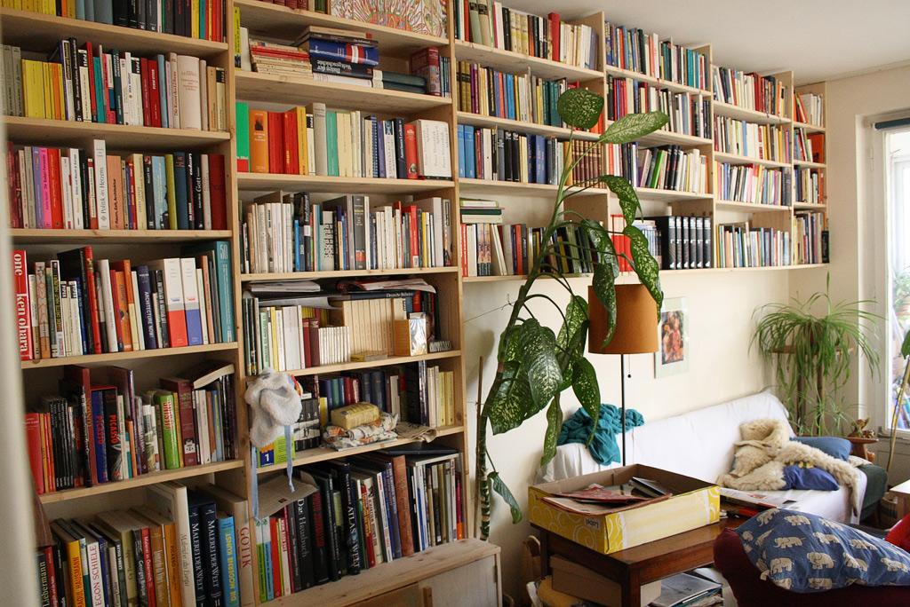 Wolfgang Pichler: Bücherwand Fichte natur