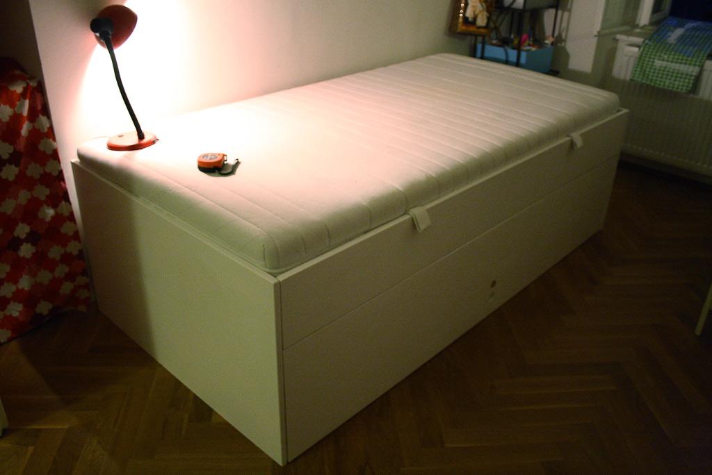 Wolfgang Pichler: Ausziehbares Kinderzimmerbett